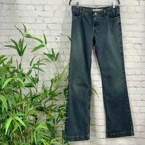 GAP Long and Lean Medium Wash Straight Leg Jeans